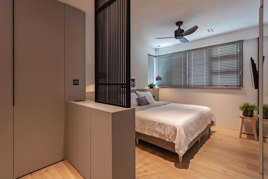 Scandinavian, HDB, Bedroom, Lorong 1 Toa Payoh, Interior Designer, Habit