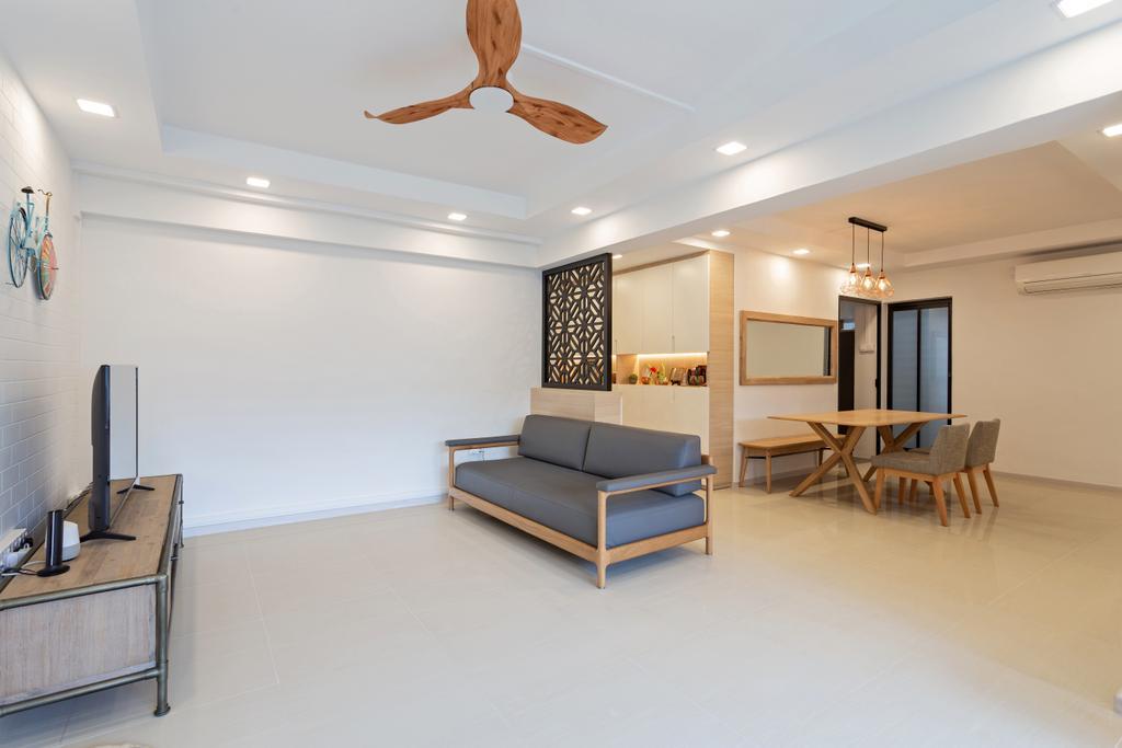 Scandinavian, HDB, Living Room, Lompang Road, Interior Designer, Space Concepts Design
