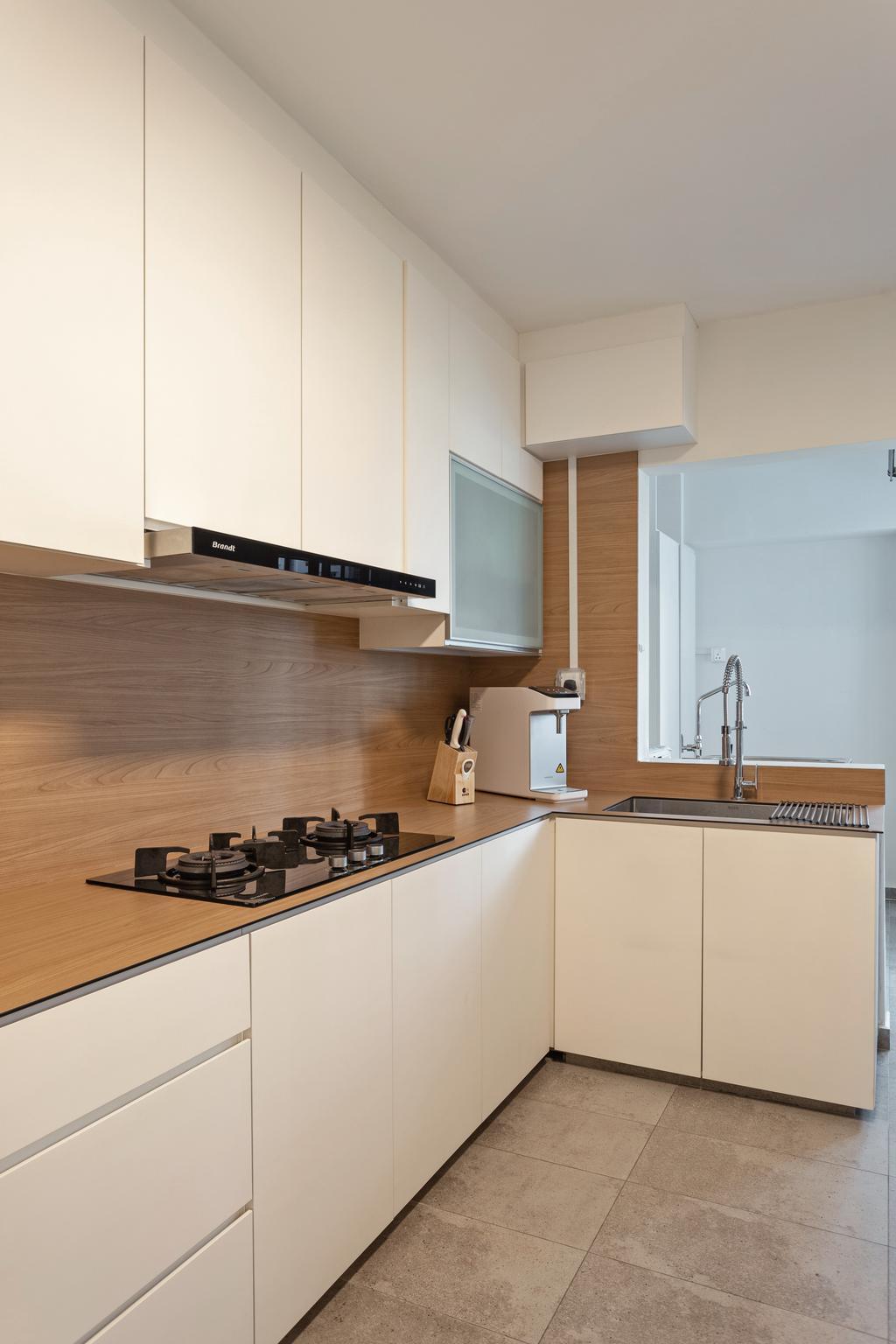 Scandinavian, HDB, Kitchen, Lompang Road, Interior Designer, Space Concepts Design