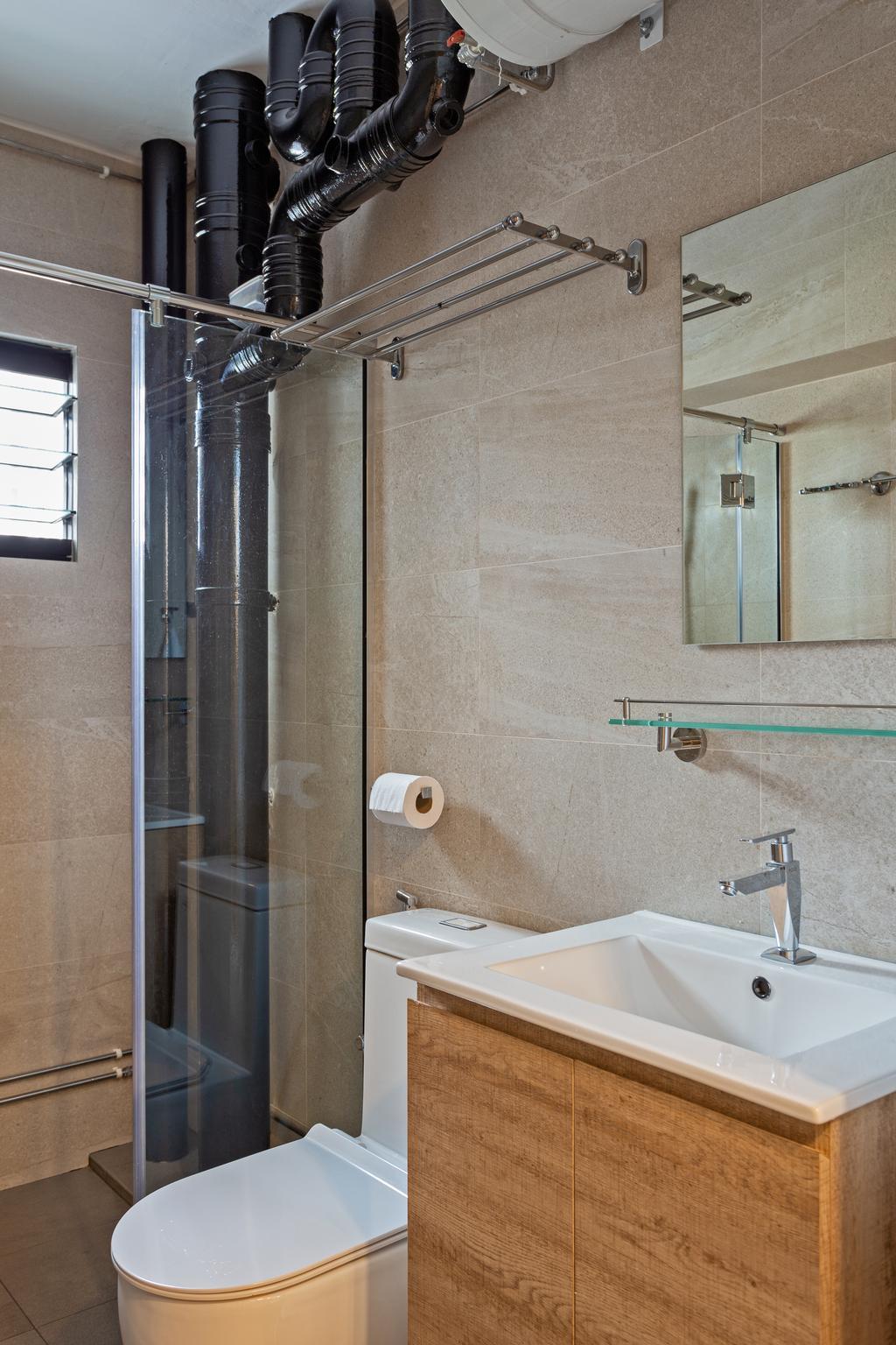 Scandinavian, HDB, Bathroom, Lompang Road, Interior Designer, Space Concepts Design