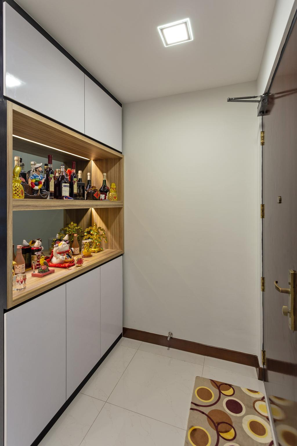 Modern, HDB, Keat Hong Link, Interior Designer, Hub One Builder