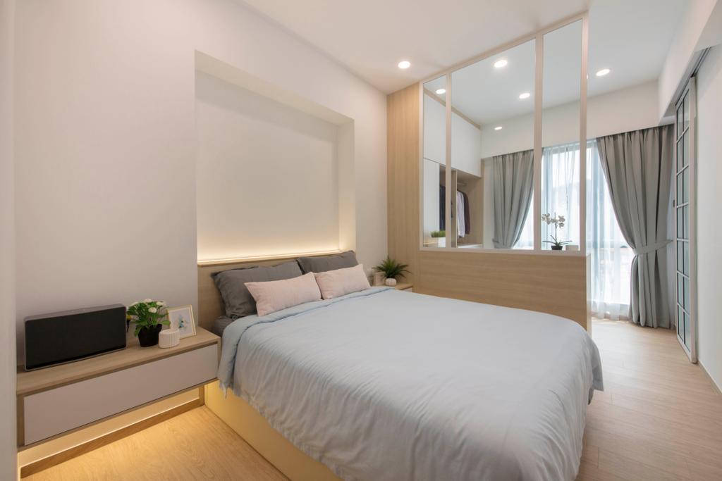 Scandinavian, Condo, Bedroom, Chantilly Rise, Interior Designer, The Roomakers