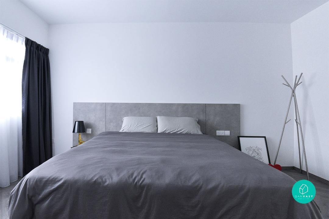 Monochrome-Home-Bedroom