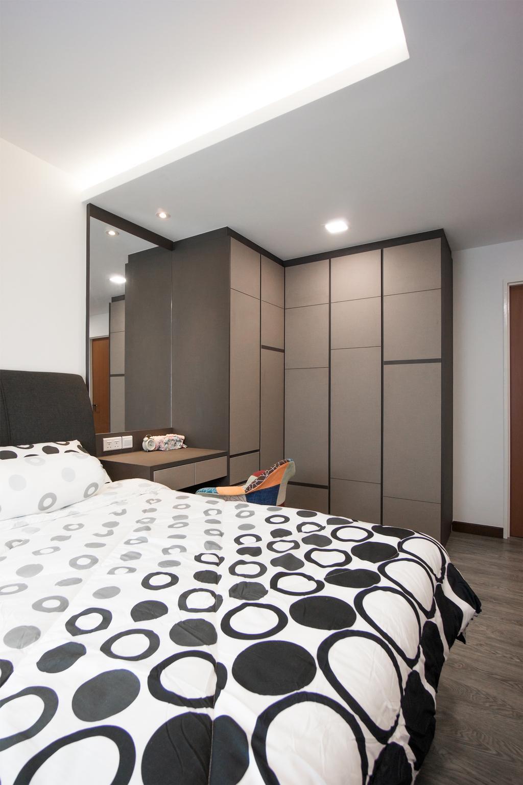 Modern, HDB, Bedroom, Yishun Street 41, Interior Designer, Flo Design