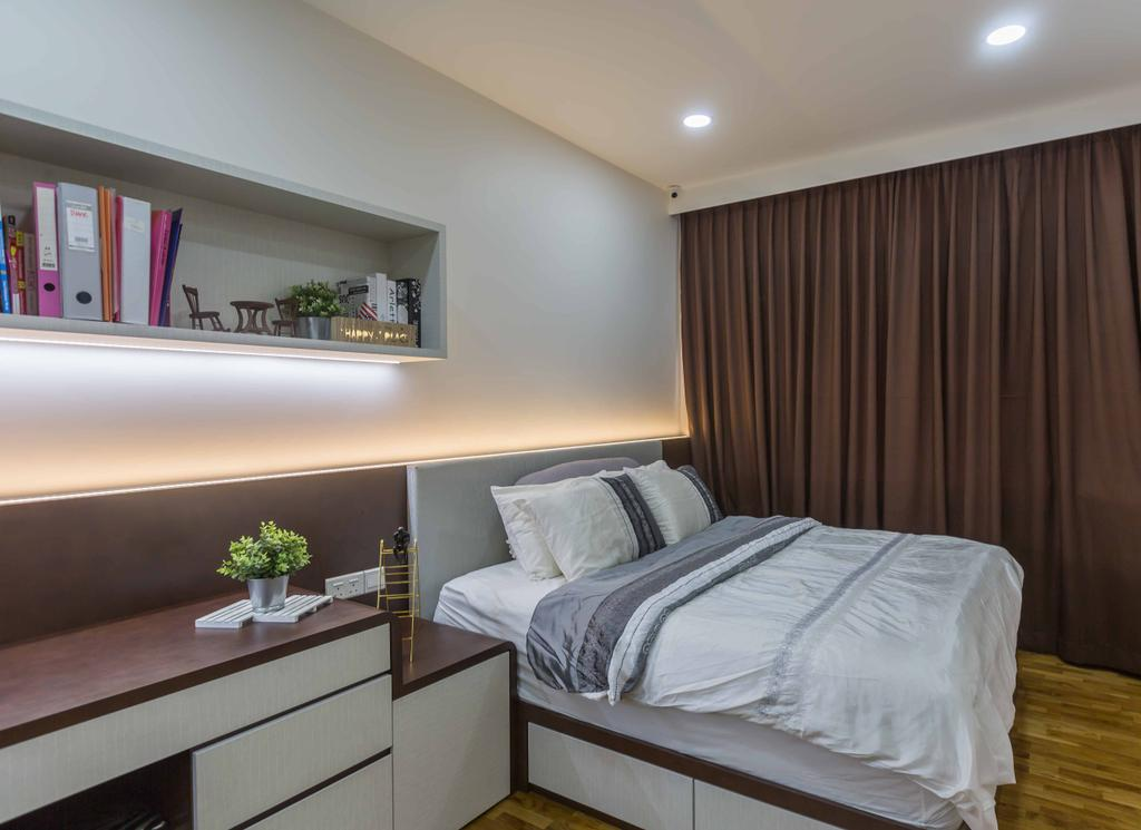 Modern, Condo, Bedroom, Amber Gardens, Interior Designer, Flo Design
