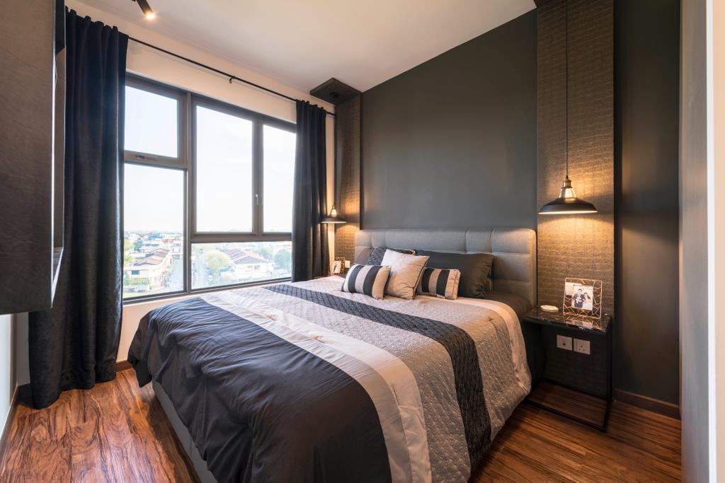 Contemporary, Condo, Bedroom, The Brownstone, Interior Designer, Glamour Concept
