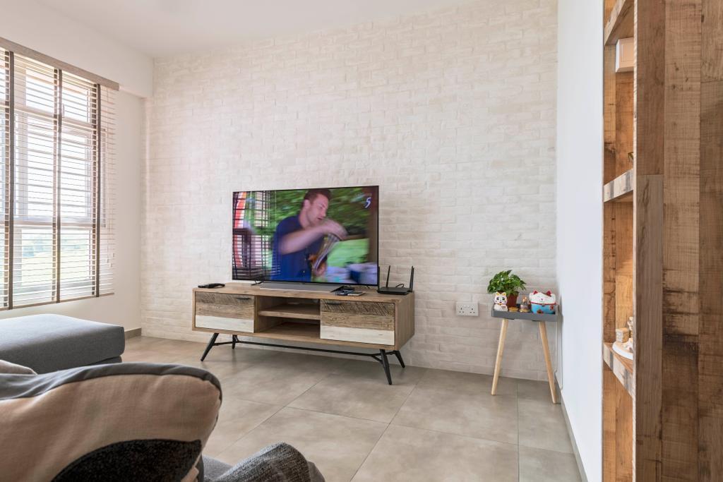 Contemporary, HDB, Living Room, Bukit Batok West Avenue 9, Interior Designer, New Age Interior