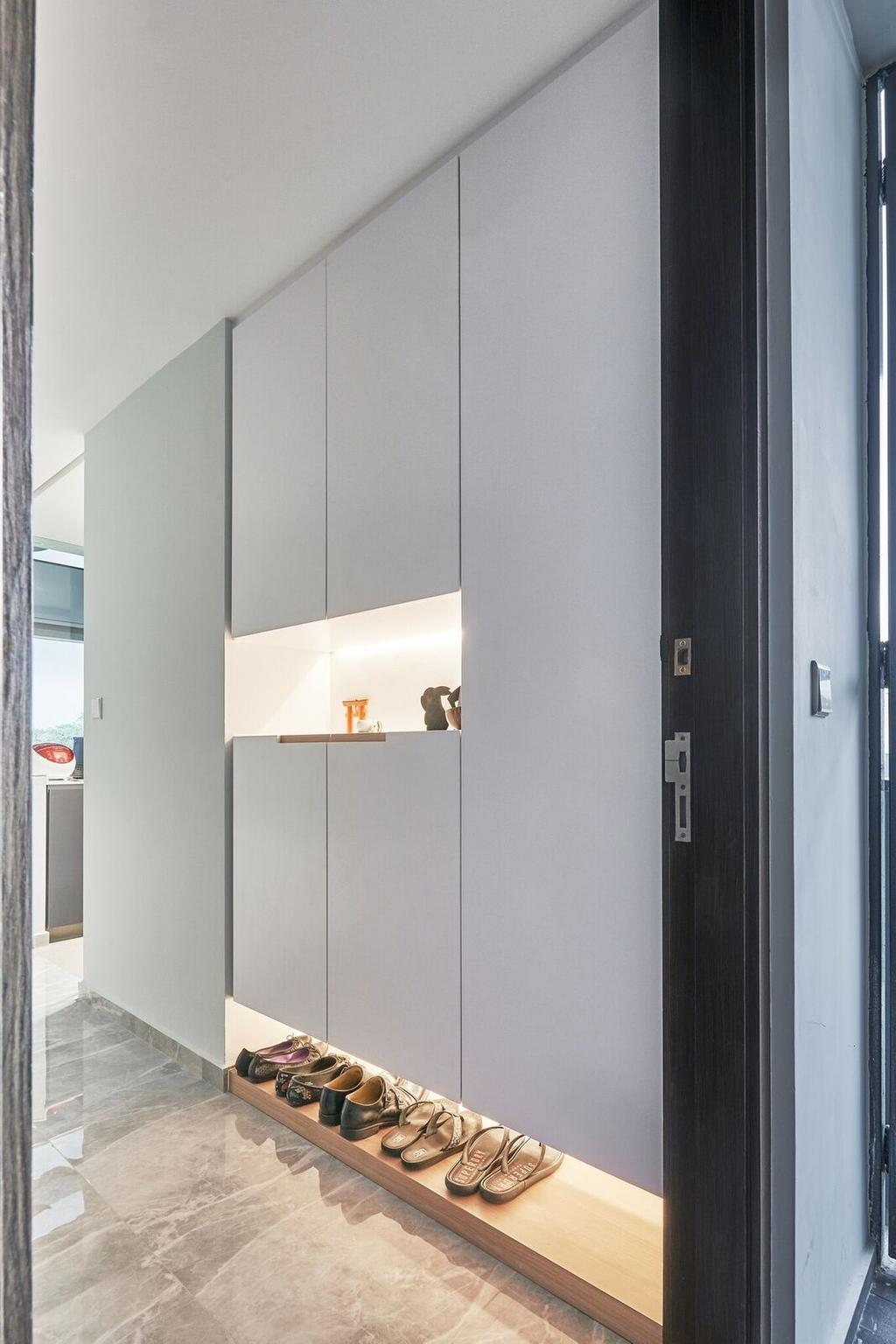 Scandinavian, Condo, Living Room, The Brownstone, Interior Designer, Charlotte's Carpentry, Minimalistic