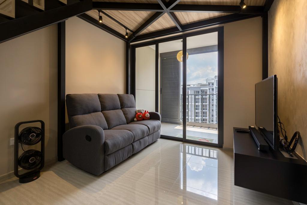 Contemporary, Condo, Living Room, The Brownstone, Interior Designer, Aart Boxx Interior