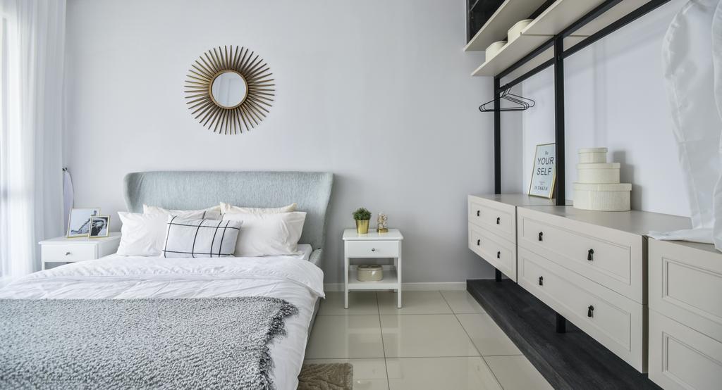 Modern, Landed, Bedroom, Setia Ecohill, Semenyih, Interior Designer, SQFT Space Design Management