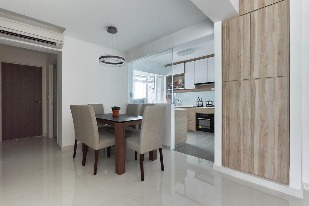 Modern, HDB, Dining Room, Yung Kuang Road, Interior Designer, EA Interior Design