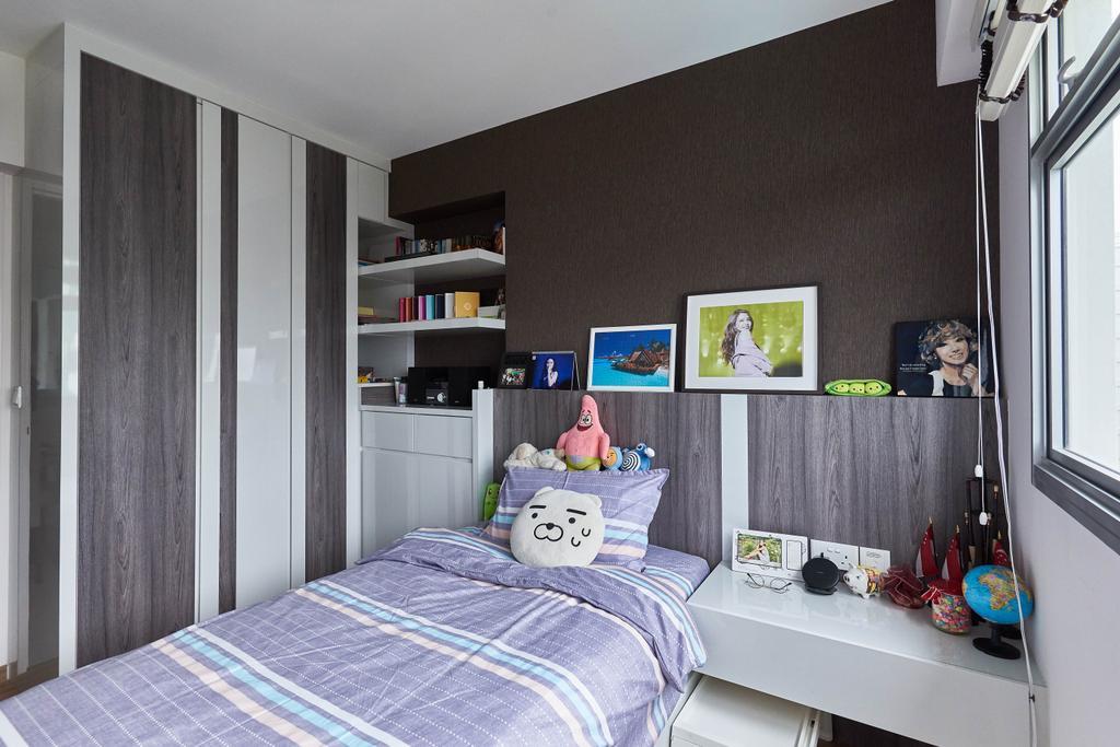 Modern, HDB, Bedroom, Yung Kuang Road, Interior Designer, EA Interior Design