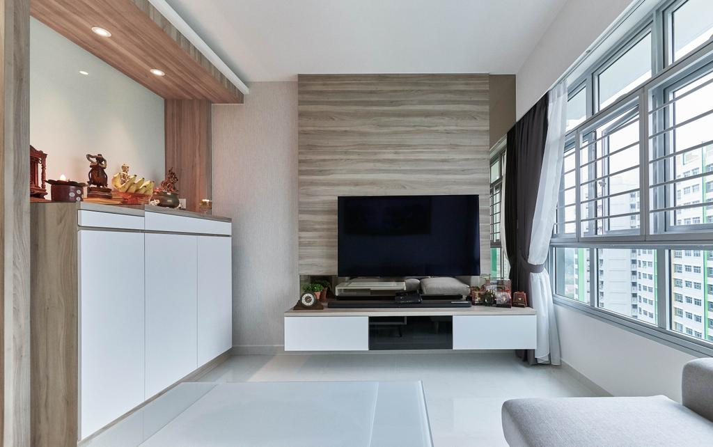 Modern, HDB, Living Room, Yung Kuang Road, Interior Designer, EA Interior Design