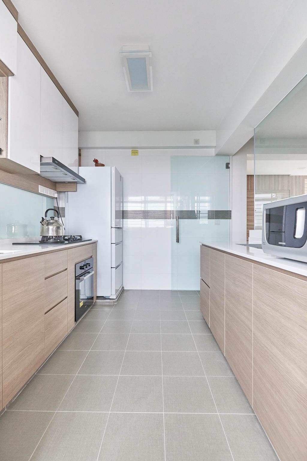 Modern, HDB, Kitchen, Yung Kuang Road, Interior Designer, EA Interior Design