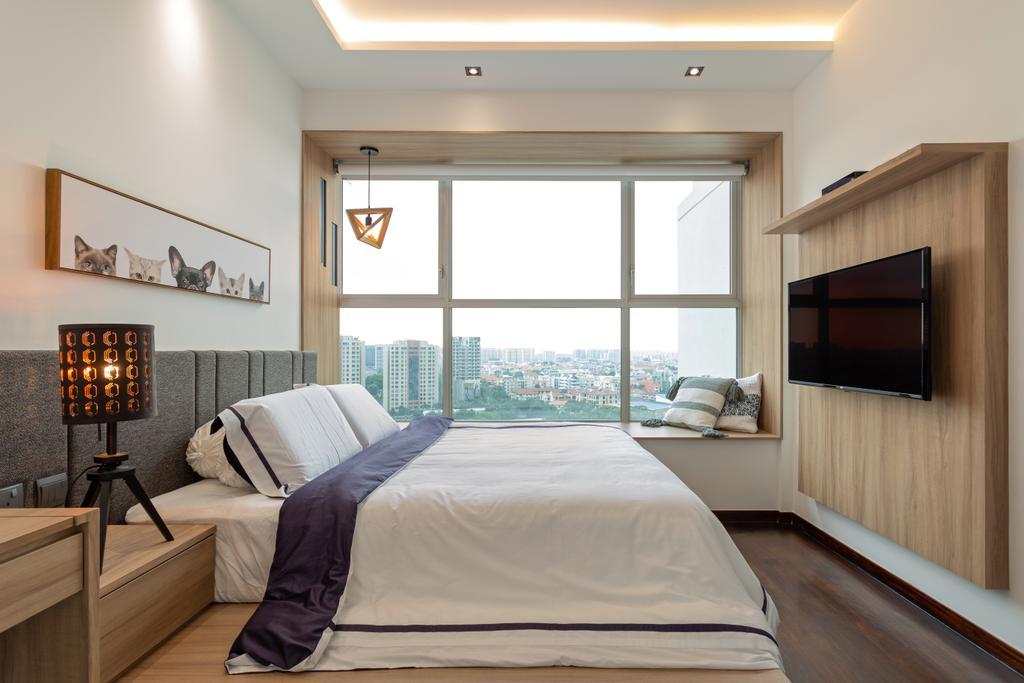 Contemporary, Condo, Bedroom, The Esta, Interior Designer, EA Interior Design