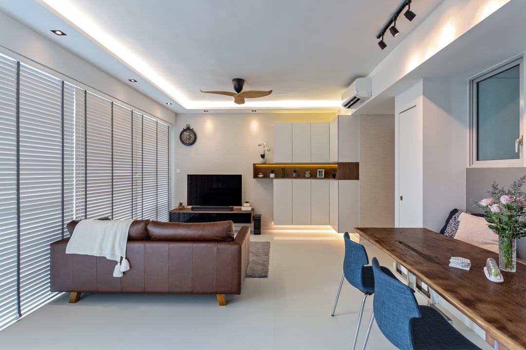 The Esta Living Room Interior Design 6