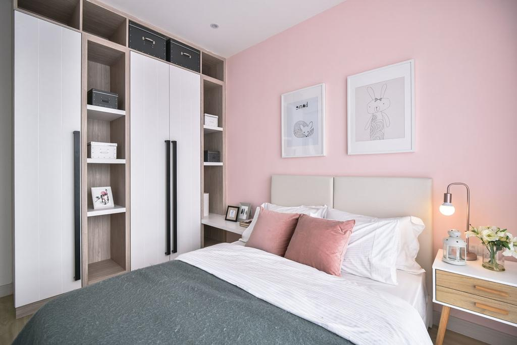 Contemporary, Landed, Bedroom, Emerald West, Rawang, Interior Designer, SQFT Space Design Management