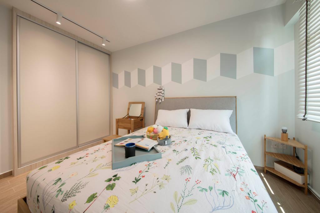 Scandinavian, HDB, Bedroom, Bedok North Avenue 4, Interior Designer, Starry Homestead