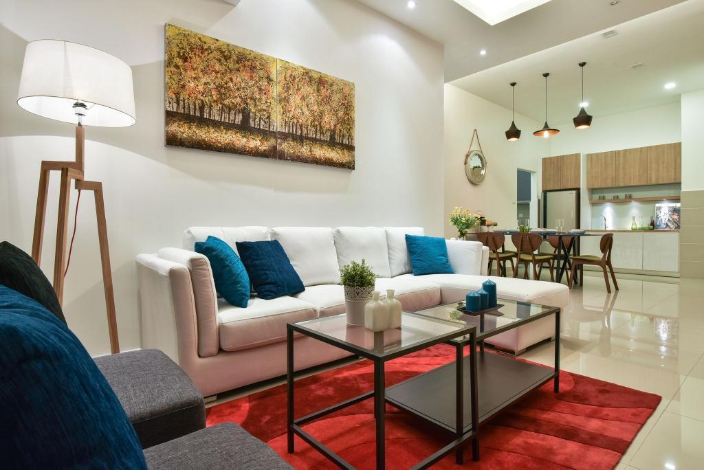 Modern, Condo, Living Room, Ceria Residence (Type A), Interior Designer, Nice Style Refurbishment