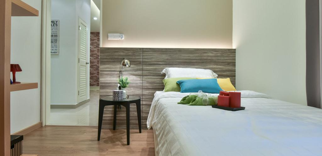 Modern, Condo, Bedroom, Ceria Residence (Type A), Interior Designer, Nice Style Refurbishment