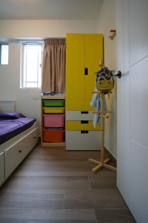 當代, 公屋/居屋, 睡房, 富欣花園, 室內設計師, 和生設計