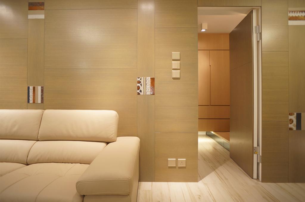 簡約, 公屋/居屋, 客廳, 慈安苑, 室內設計師, 和生設計, 摩登