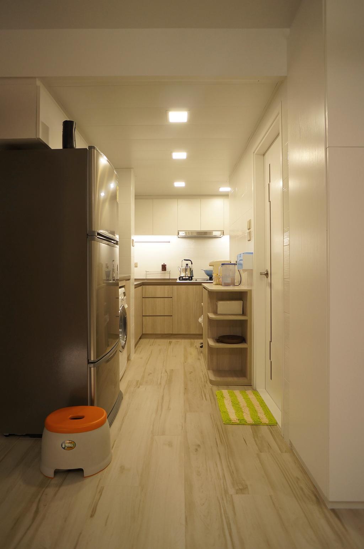 簡約, 公屋/居屋, 廚房, 慈安苑, 室內設計師, 和生設計, 摩登