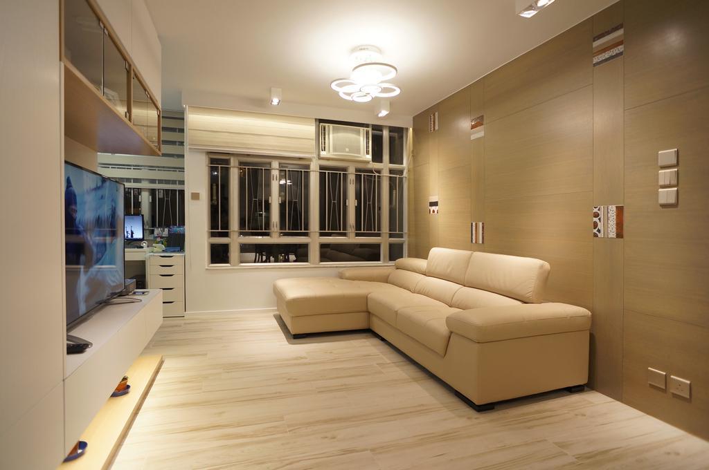 簡約, 公屋/居屋, 慈安苑, 室內設計師, 和生設計, 摩登