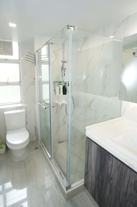 公屋/居屋, 浴室, 寶珮苑, 室內設計師, 和生設計