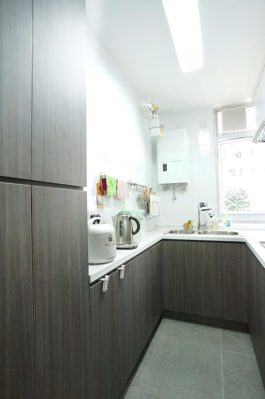 公屋/居屋, 廚房, 寶珮苑, 室內設計師, 和生設計