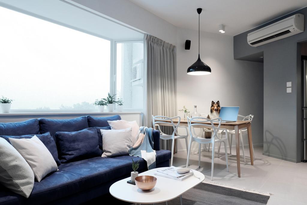 簡約, 私家樓, 客廳, 海景花園, 室內設計師, Studio Roof