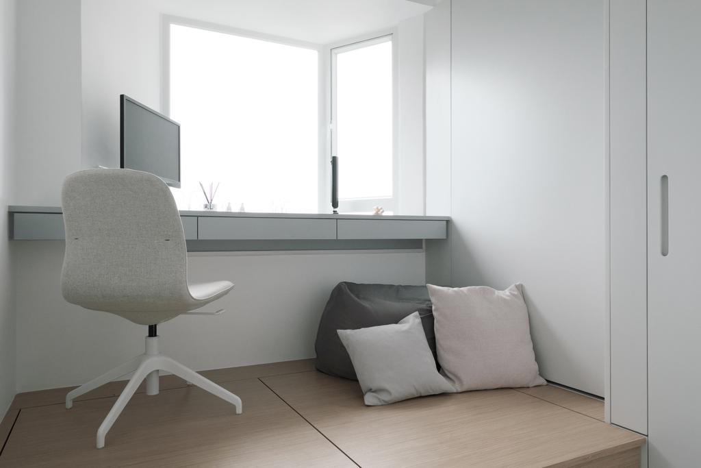 簡約, 私家樓, 睡房, 海景花園, 室內設計師, Studio Roof