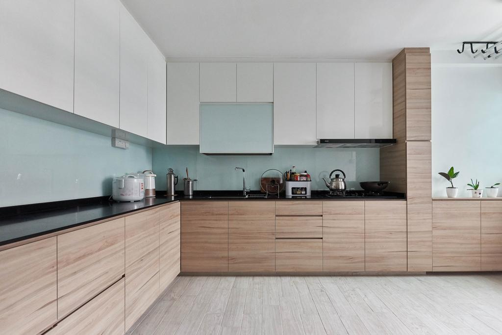 Contemporary, HDB, Kitchen, Yishun Street 61, Interior Designer, Team Interior Design