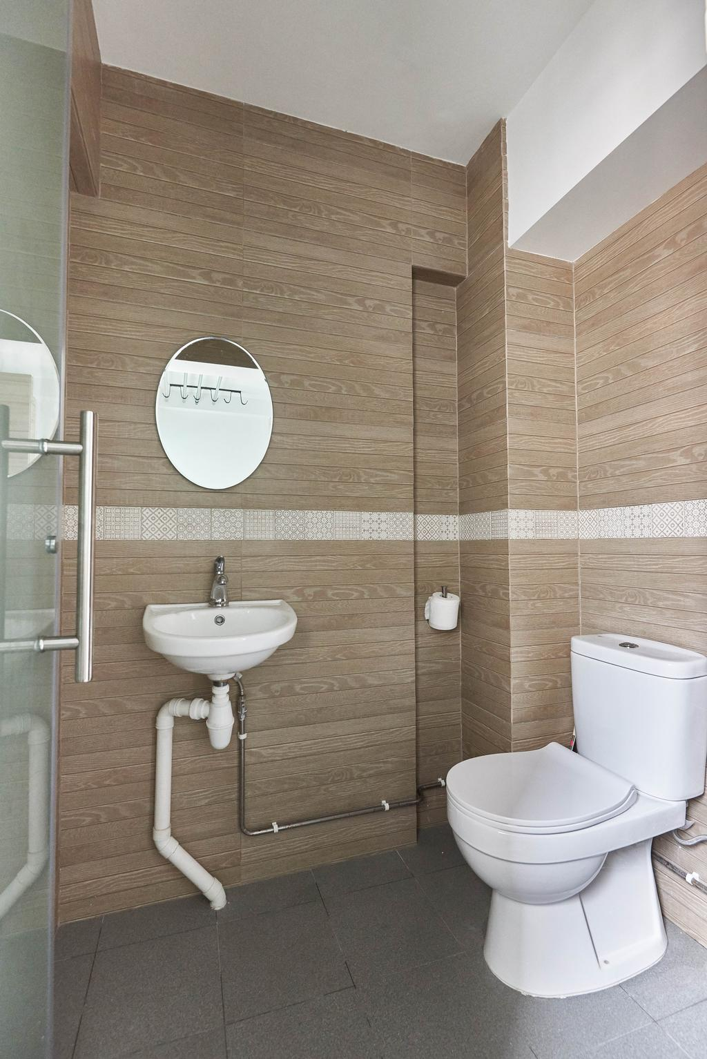 Contemporary, HDB, Bathroom, Yishun Street 61, Interior Designer, Team Interior Design