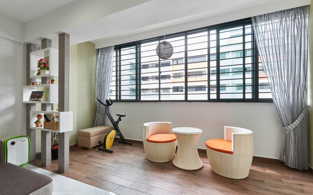 Contemporary, HDB, Balcony, Yishun Street 61, Interior Designer, Team Interior Design