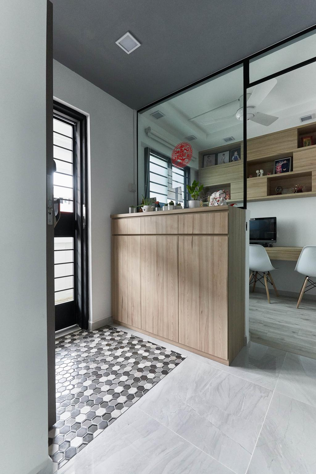Contemporary, HDB, Study, Yishun Street 61, Interior Designer, Team Interior Design