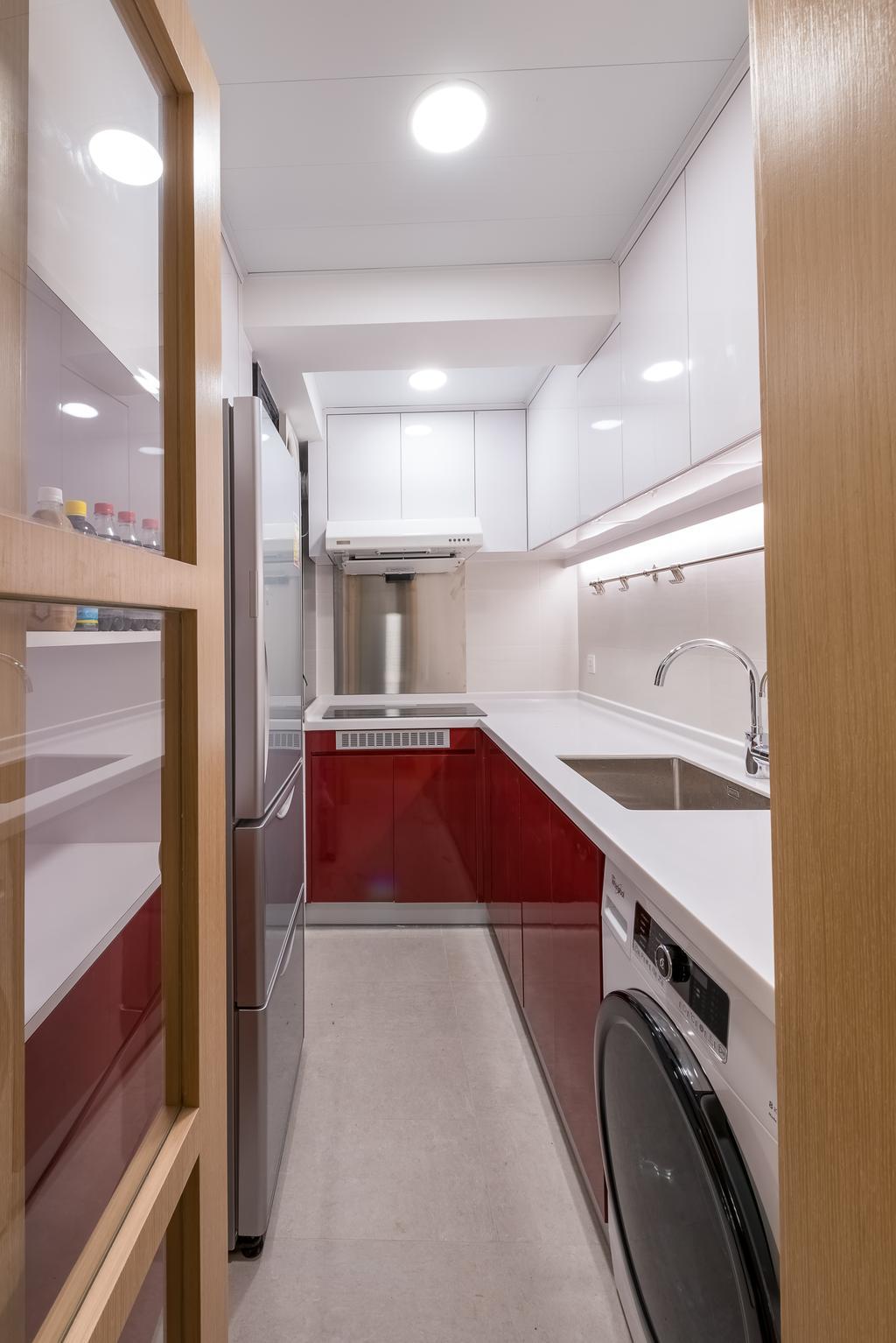 私家樓, 廚房, 康怡花園, 室內設計師, Deco Farmer Studio