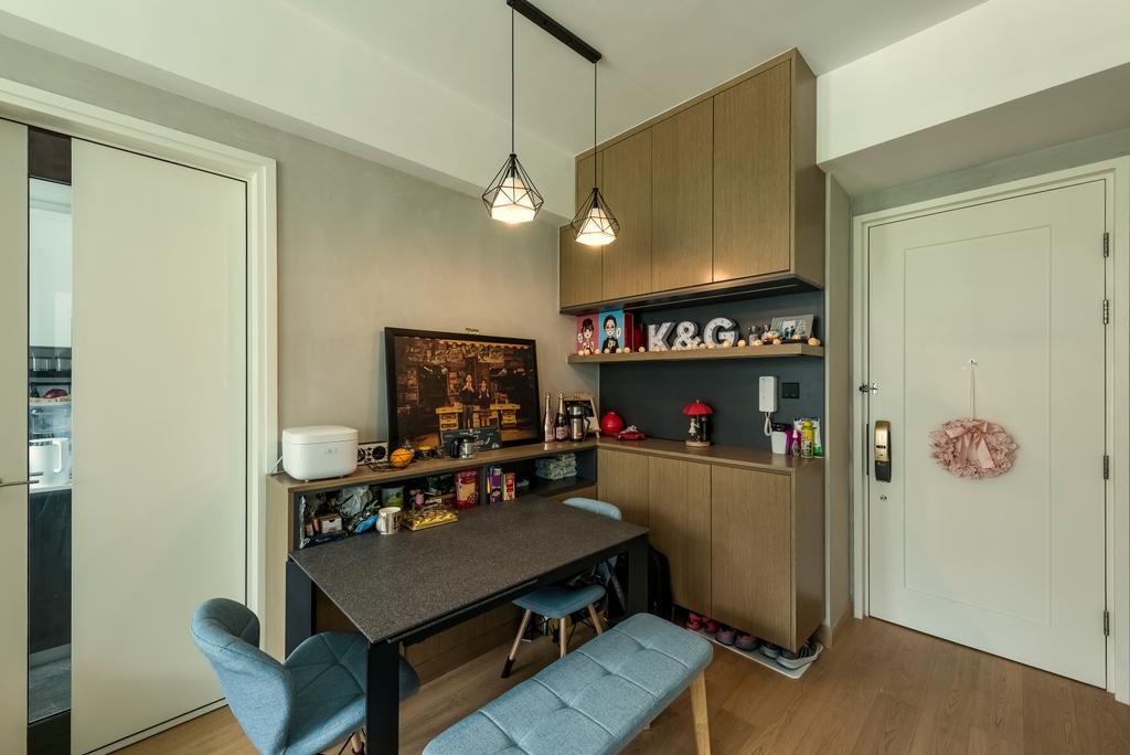 簡約, 私家樓, 飯廳, Capri, 室內設計師, Deco Farmer Studio, 摩登