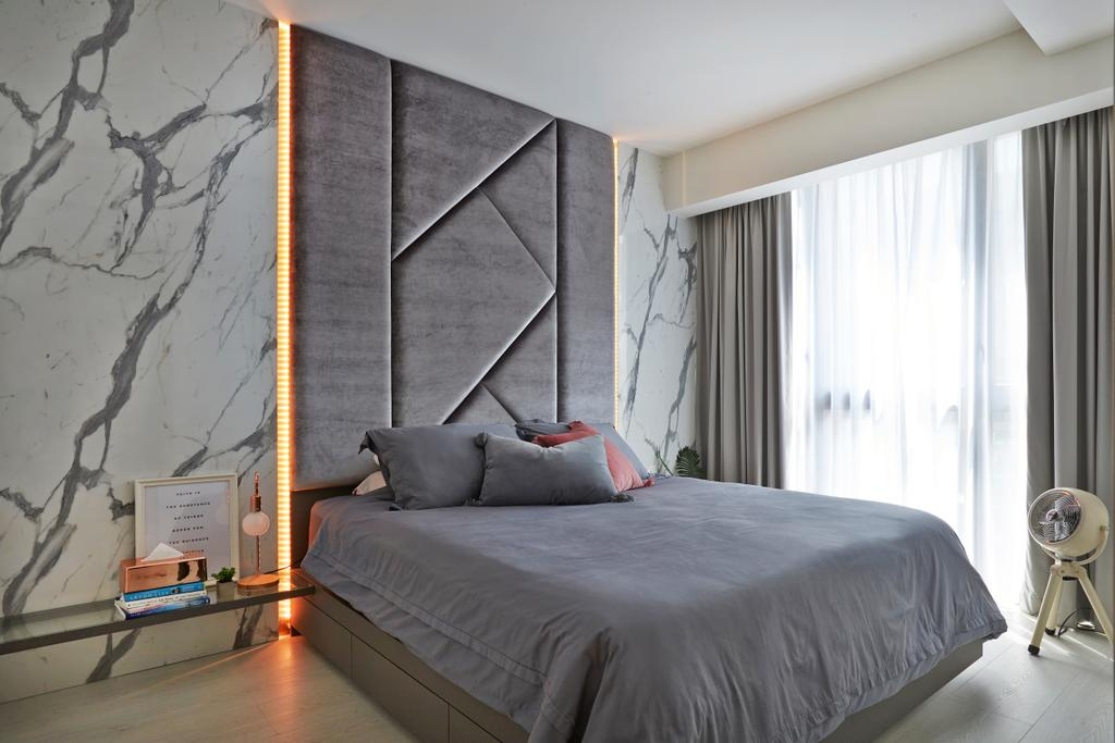 Contemporary, Condo, Bedroom, The Terrace, Interior Designer, Fuse Concept, Modern