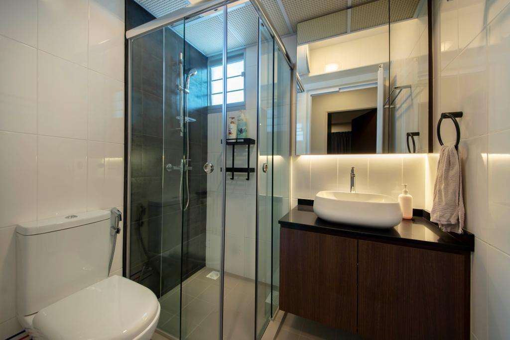 Contemporary, HDB, Ang Mo Kio Street 51, Interior Designer, Posh Living Interior Design