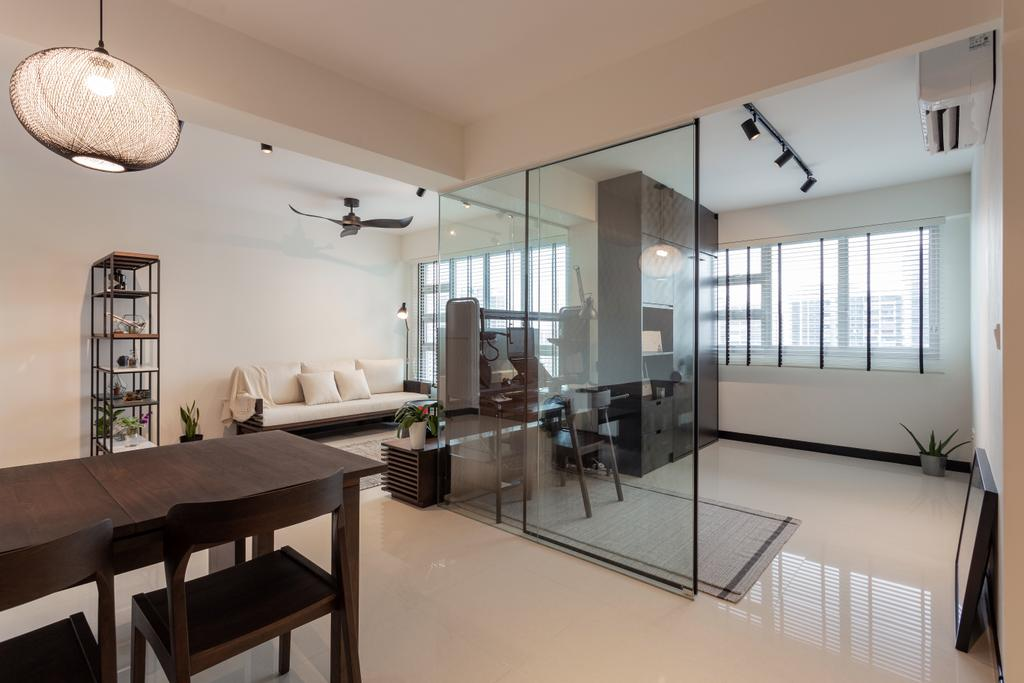 Minimalistic, HDB, Dining Room, Toa Payoh Lorong 1, Interior Designer, ARK-hitecture, Contemporary