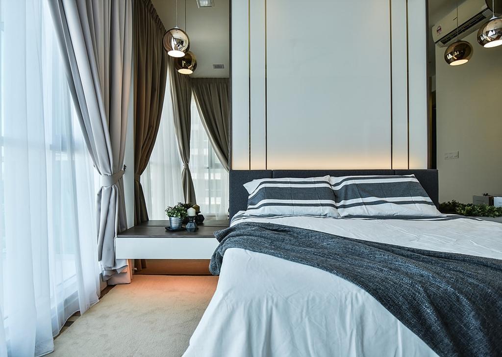 Contemporary, Condo, Bedroom, Damansara Utama, Interior Designer, IQI Concept Interior Design & Renovation