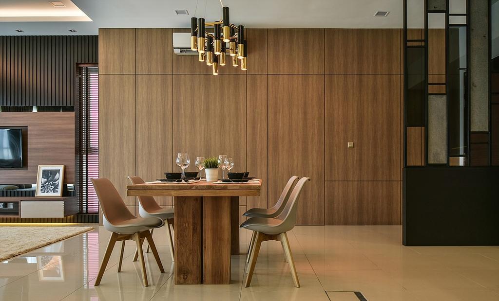 Contemporary, Condo, Dining Room, Damansara Utama, Interior Designer, IQI Concept Interior Design & Renovation