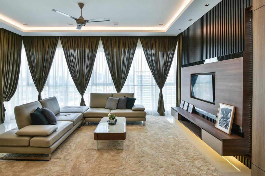 Damansara Utama Living Room Interior Design 7