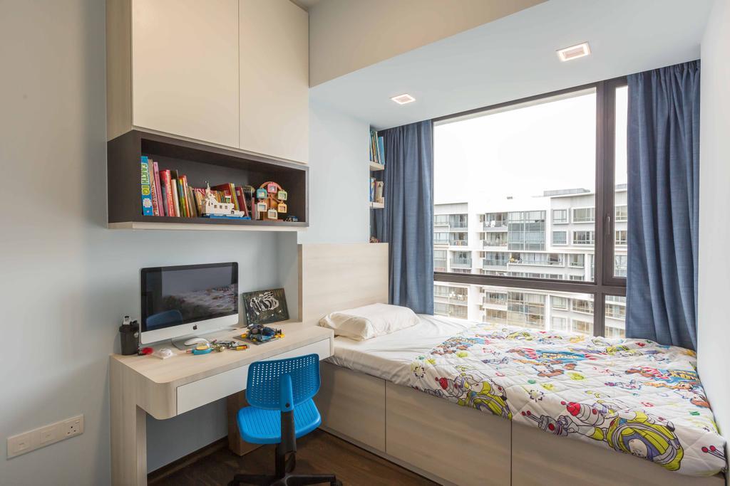 Contemporary, Condo, Bedroom, D'Nest, Interior Designer, The Orange Cube