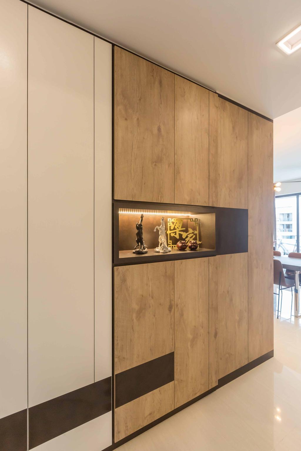 Contemporary, Condo, D'Nest, Interior Designer, The Orange Cube