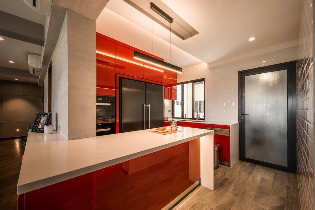 Contemporary, Condo, Neptune Court, Interior Designer, The Orange Cube