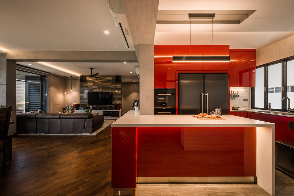 Contemporary, Condo, Kitchen, Neptune Court, Interior Designer, The Orange Cube