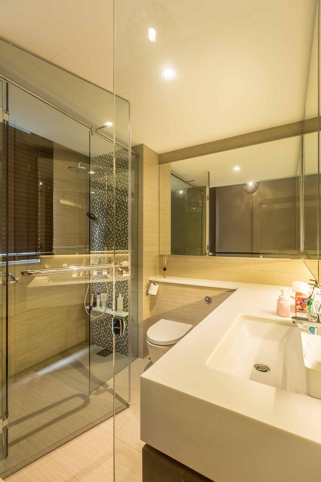Contemporary, Condo, Bathroom, Rivertrees Residences, Interior Designer, The Orange Cube