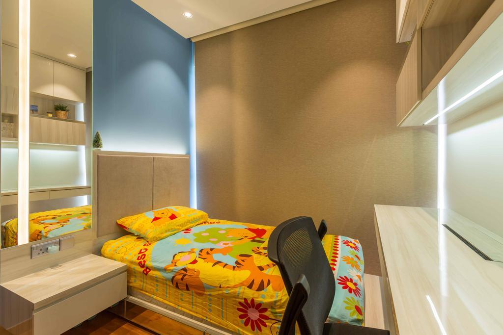 Contemporary, Condo, Bedroom, Rivertrees Residences, Interior Designer, The Orange Cube, Kids Room